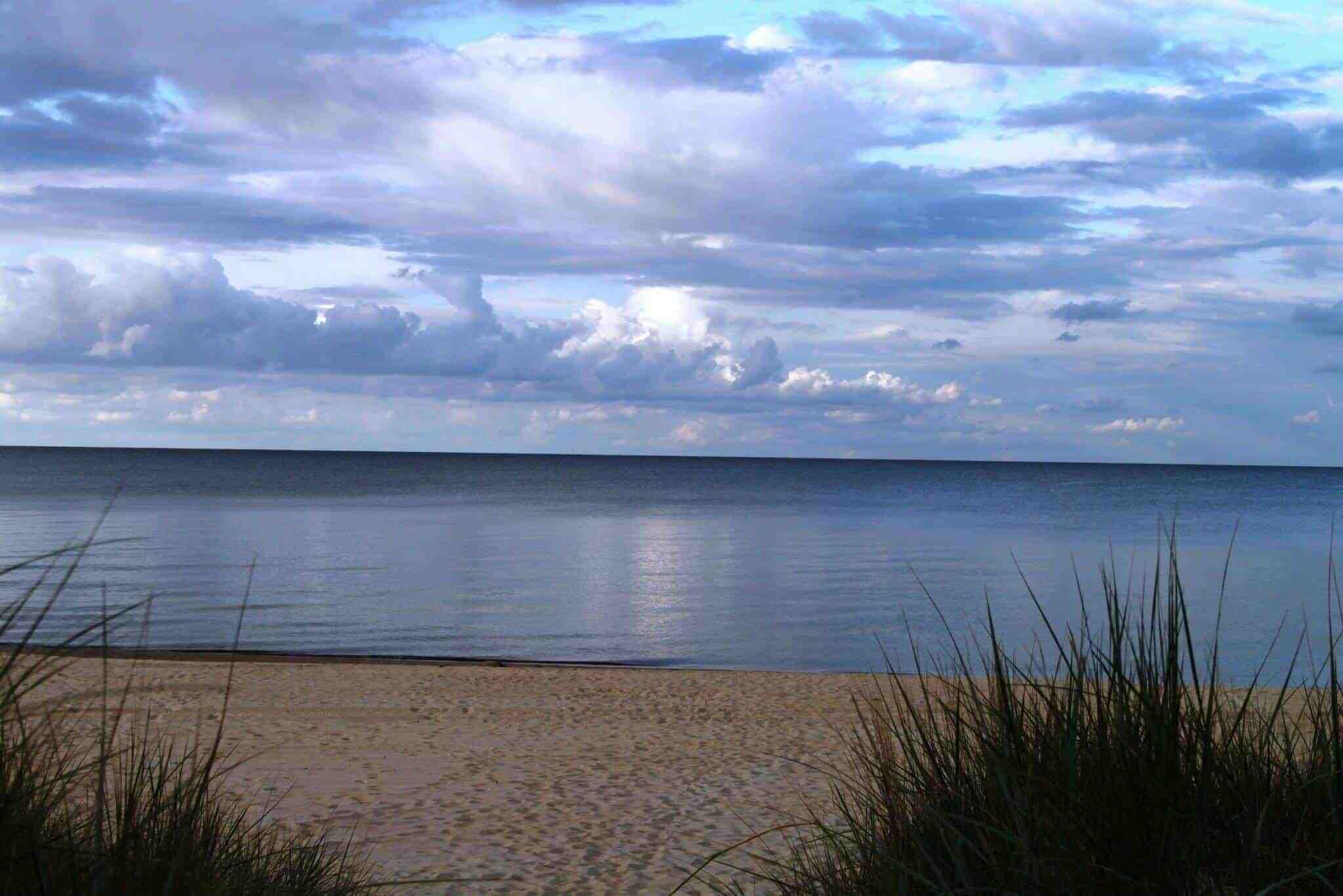 Foto Düne und Meer