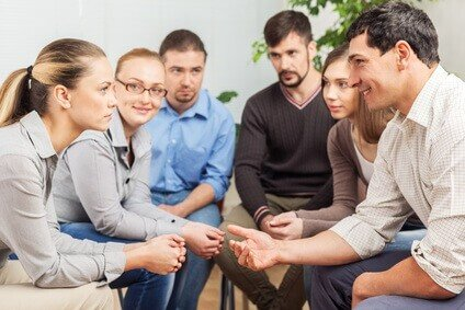 Hypnose Gruppenbild