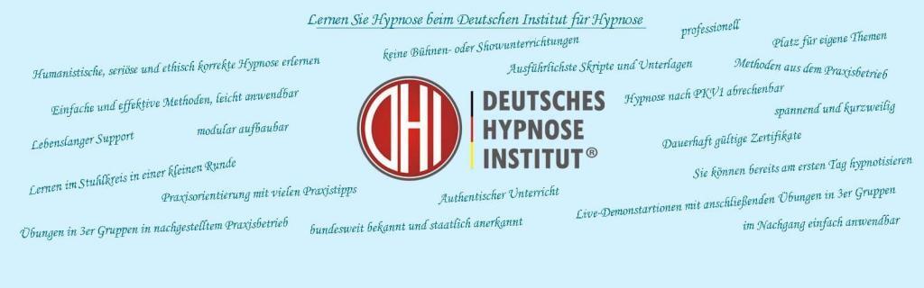 Am Besten gleich DHI Hypnoseausbildungen