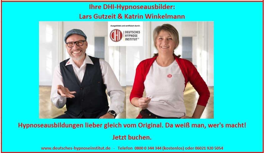DHI Hypnoseausbildung - das weiß man, wer's macht!